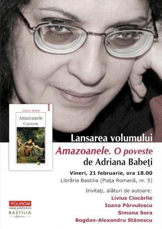 Amazoanele - O poveste - Adriana Babeţi