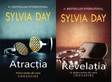 Seria Crossfire de Sylvia Day