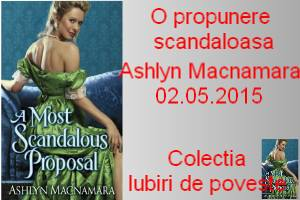 O propunere scandaloasa - Ashley Macnamara - prezentare carte