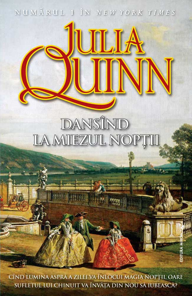 Dansand la miezul noptii de Julia Quinn-Editura Miron