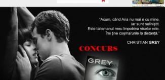 Concurs Grey de E.L.James-Librex.ro!