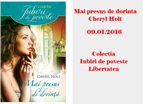 Mai presus de dorinta - Cheryl Holt - Editura Alma/Litera