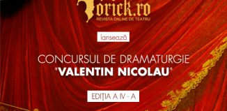 "Concursul National de Dramaturgie Yorick – ""Valentin Nicolau"""
