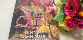 Din vina domnișoarei Bridgerton, de Julia Quinn-parfum de fericire