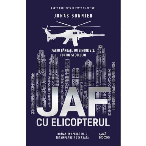 Recenzie carte | Jaf cu elicopterul de Jonas Bonnier | Editura Litera