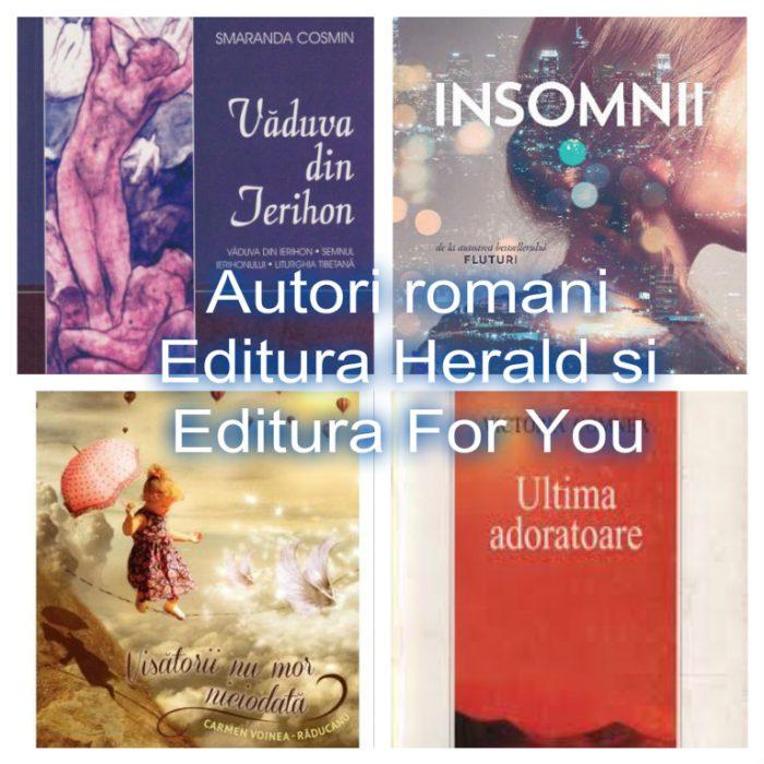 Lista autori romani Editura Herald - Editura For You