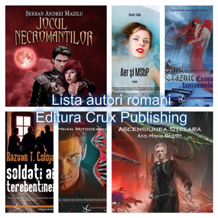 Autori români - Editura Crux Publishing