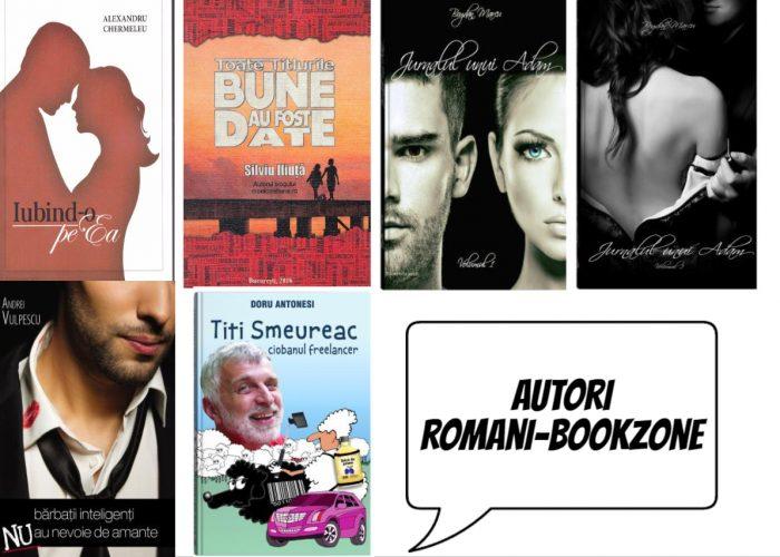 Lista Autori romani - Editura Bookzone