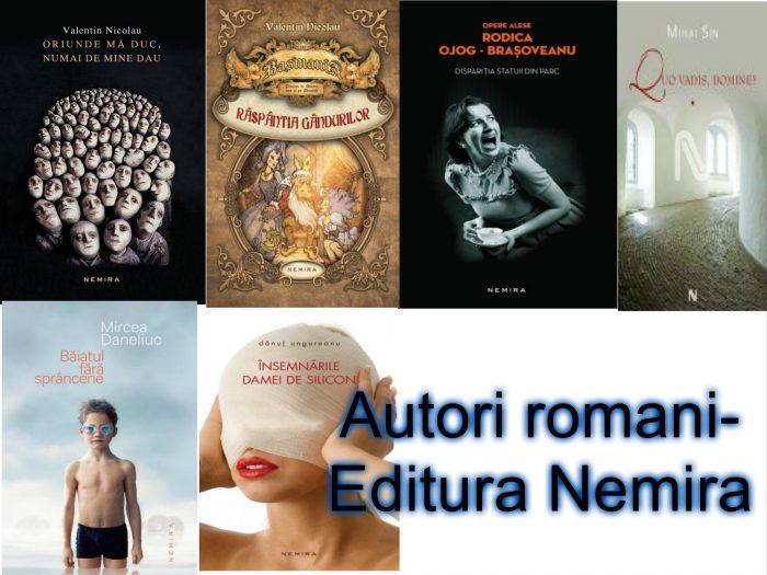 Lista autori romani - Editura Nemira