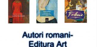 Listă autori români Editura Art