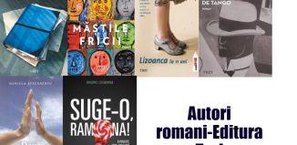 Listă autori români - Editura Trei şi Pandora M - Literaturapetocuri.ro