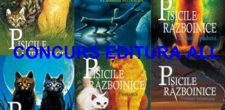 Concurs Editura All-Pisicile razboinice