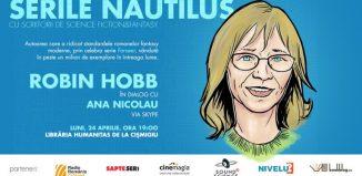 Celebra scriitoare fantasy Robin Hobb este invitată prin skype