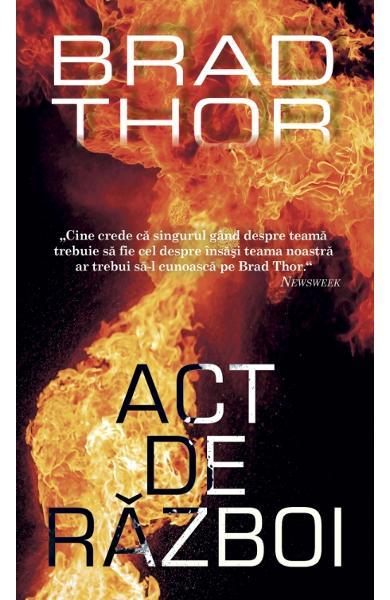 Act de război - Brad Thor - recenzie