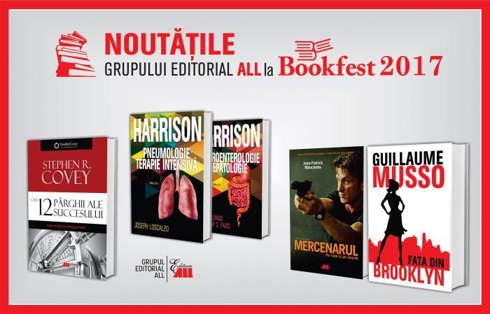 Grupul Editorial ALL la Salonul Internațional de Carte Bookfest 2017