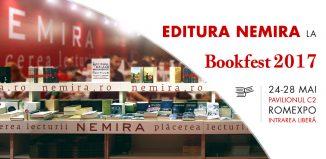 Editurile Nemira și Nemi participă la Salonul Internațional de carte Bookfest