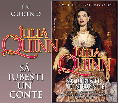 Să iubeşti un conte - Julia Quinn - Editura Miron