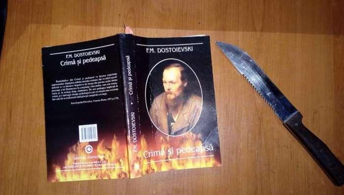 Crimă şi pedeapsă de F.M.Dostoievski - recenzie - Literaturapetocuri.ro