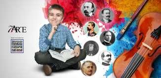 Scriitorul Ciprian Măceşaru le citeşte copiilor într-un proiect co-finanţat