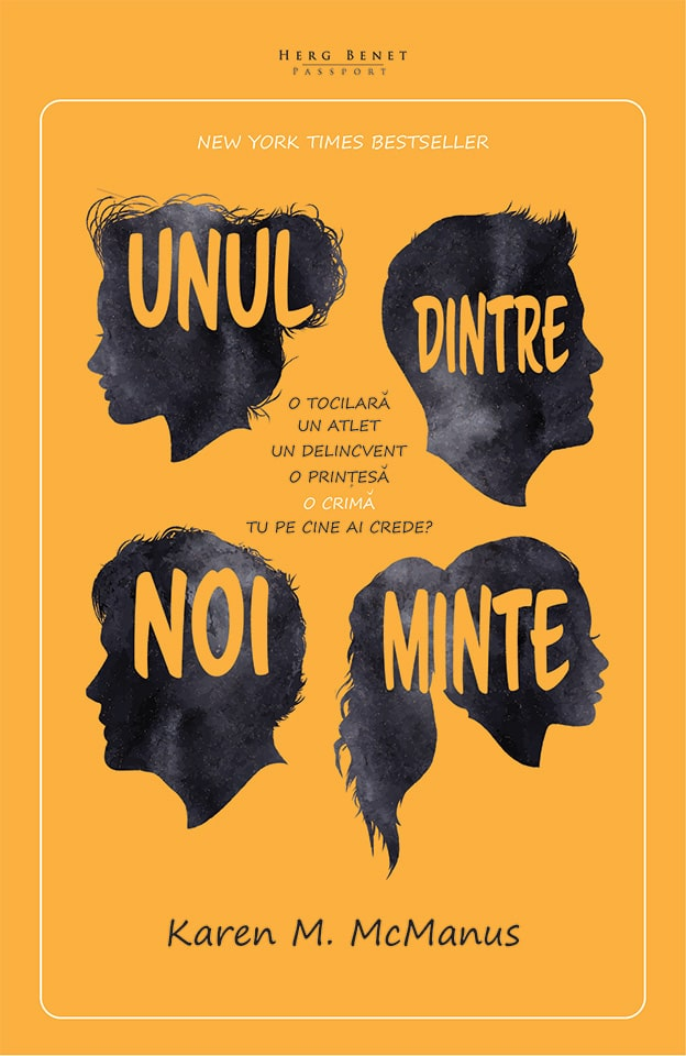 Unul dintre noi minte - Karen M. McManus - Editura Herg Benet