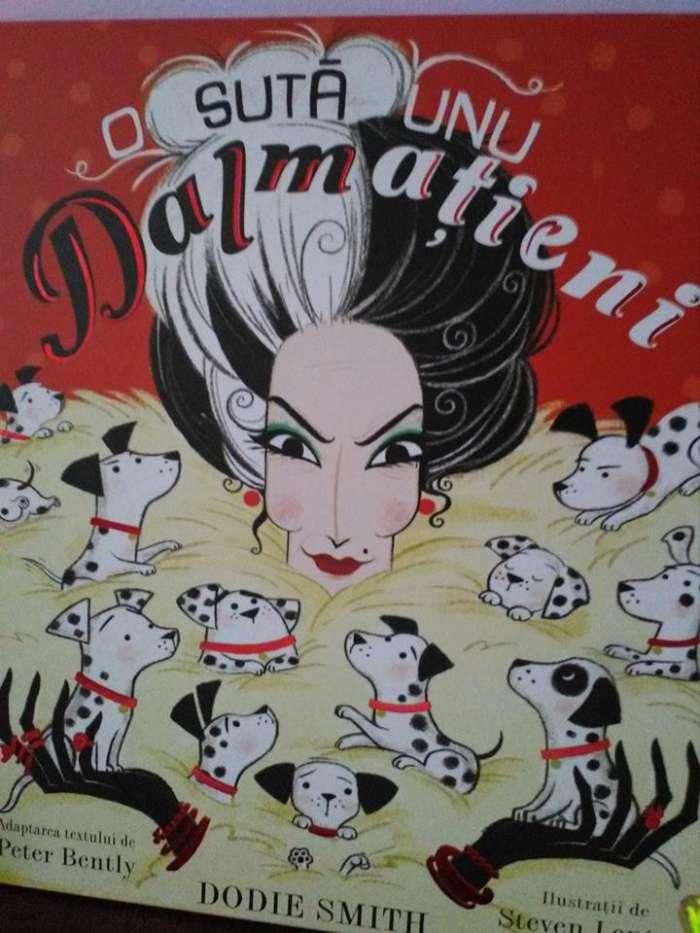 101 dalmațieni - adaptare ilustrată după Dodie Smith - recenzie