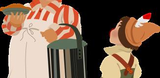O plăcintă cu bucluc & Mirare - Duel poetic - Creație literară