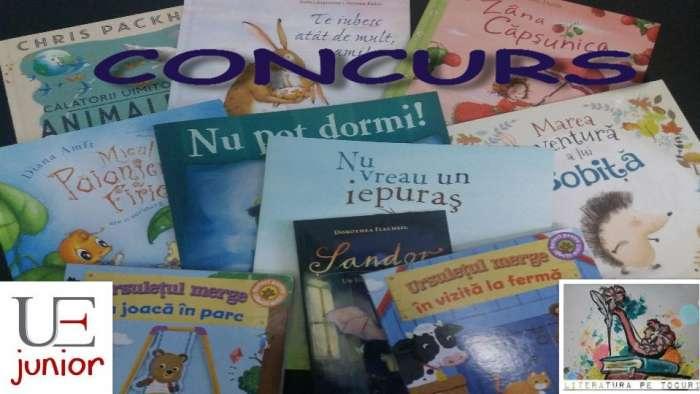 Participă și poți câștiga un pachet de cărți pentru copilul tău