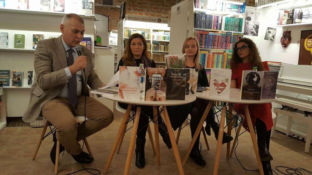 Lansarea cărților Corinei Ozon la Timișoara