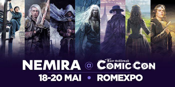 Editura Nemira la East European Comic Con 2018