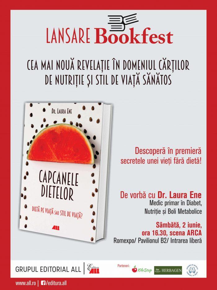 LANSARE Capcanele Dietelor Bookfest 2018