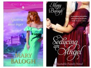 Ispitirea unui înger– Seducing an Angel- Seria Huxtable Quintet de Mary Balogh