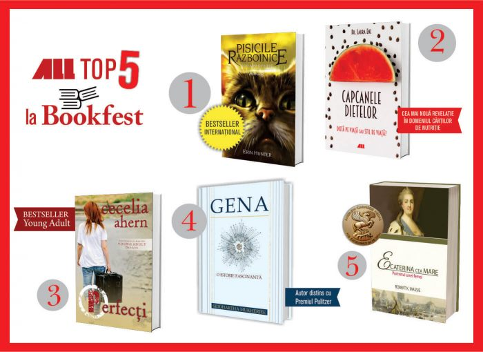 Top 5 ALL la Bookfest