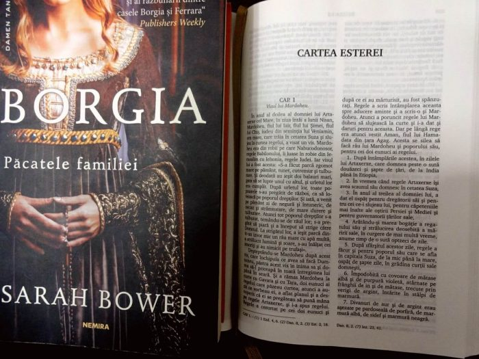 Borgia. Păcatele familieide Sarah Bower-Editura Nemira-recenzie