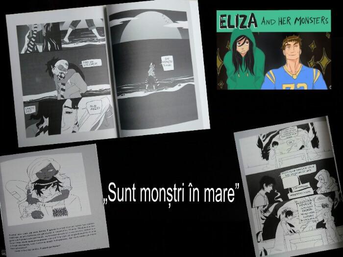 Eliza şi monştrii ei de Francesca Zappia-Editura Storia-recenzie