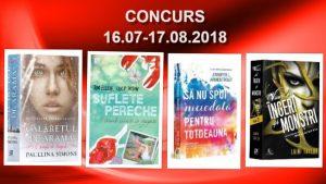 Câștigă cărți pentru vacanță de la Editura Epica