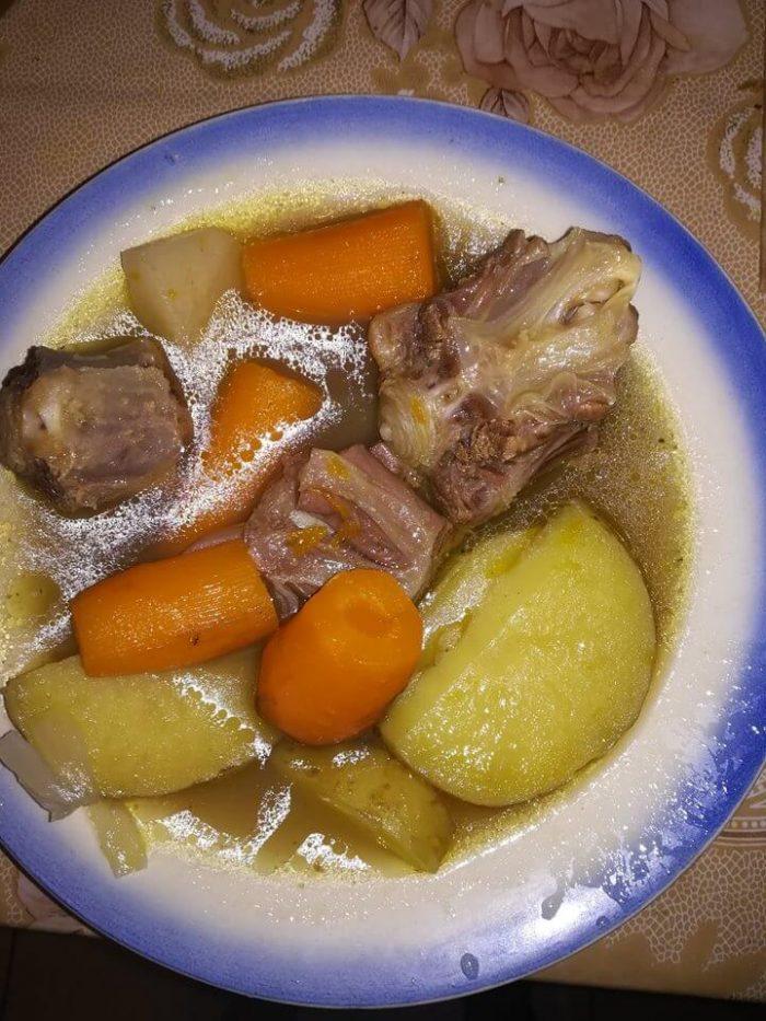 supă în stil turcesc-Haslama