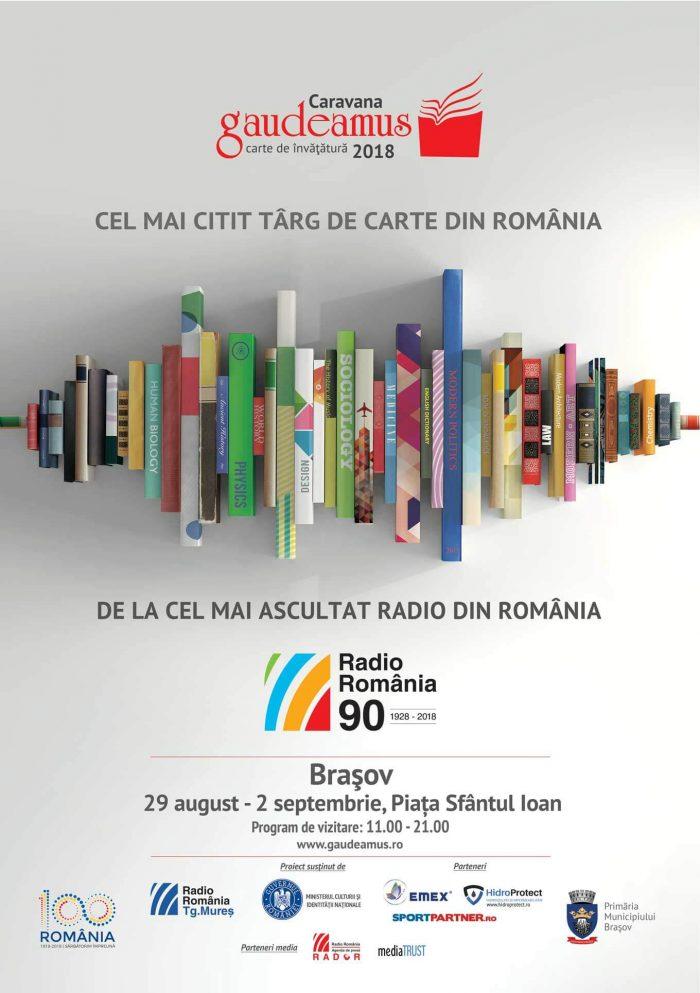 Limba română, limba Unirii-Dezbatere și recital poetic la Gaudeamus Brașov