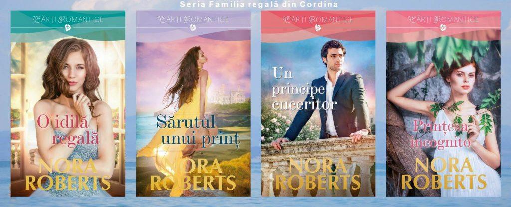 Seria Familia regală din Cordina de Nora Roberts-Colectia Carti Romantice