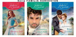 Seria HARVESTON de Alissa Johnson-Colectia Carti Romantice-Editura Lira-Litera