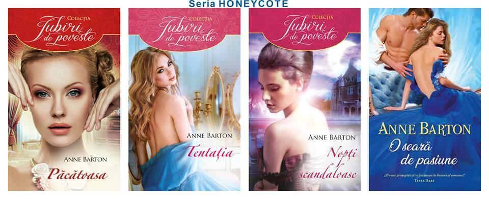 Seria Honeycote de Anne Barton-Colecția Iubiri de poveste