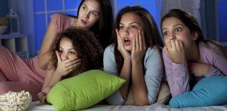 O seară între fete...filme