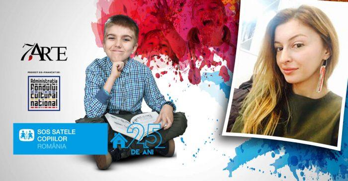 10 scriitori contemporani vor citi în această toamnă micuţilor de la SOS Satele Copiilor, într-un proiect al Asociaţiei 7 ARTE