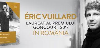 Eric Vuillard, laureatul Premiului Goncourt 2017, vine în România