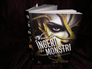 Visuri de îngeri și monștri de Laini Taylor-Editura Epica-recenzie