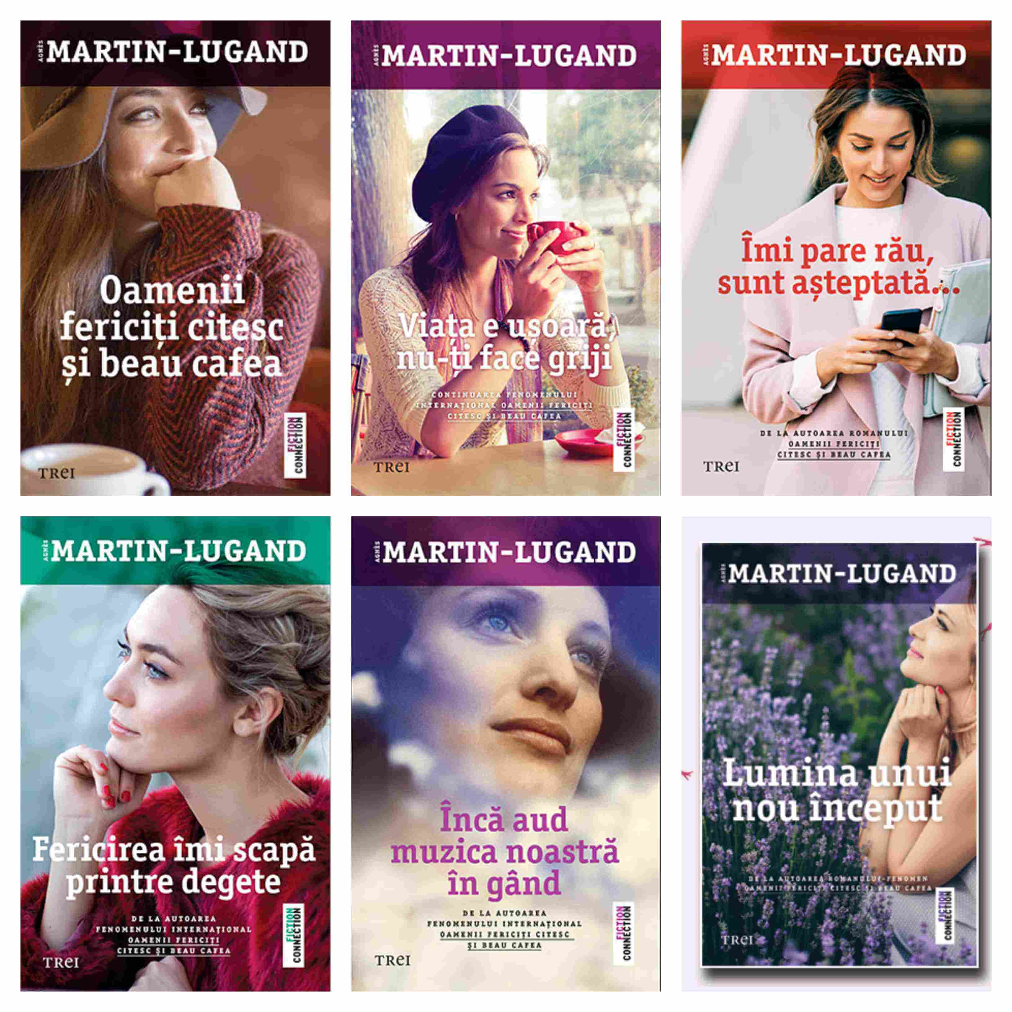 Carti Agnes Martin - Lugand - Editura Trei