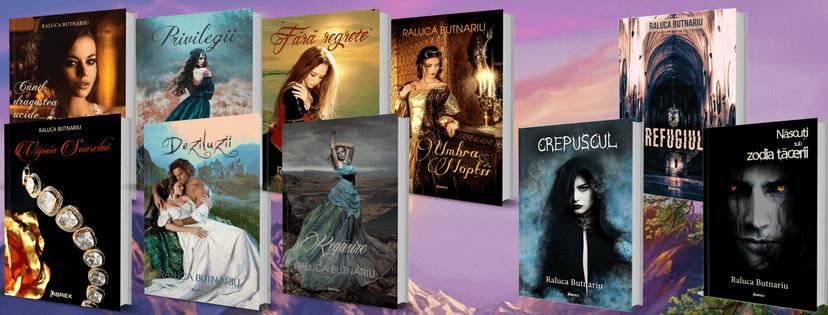 Listă cărți scrise deRaluca Butnariu (Anna Butnar)