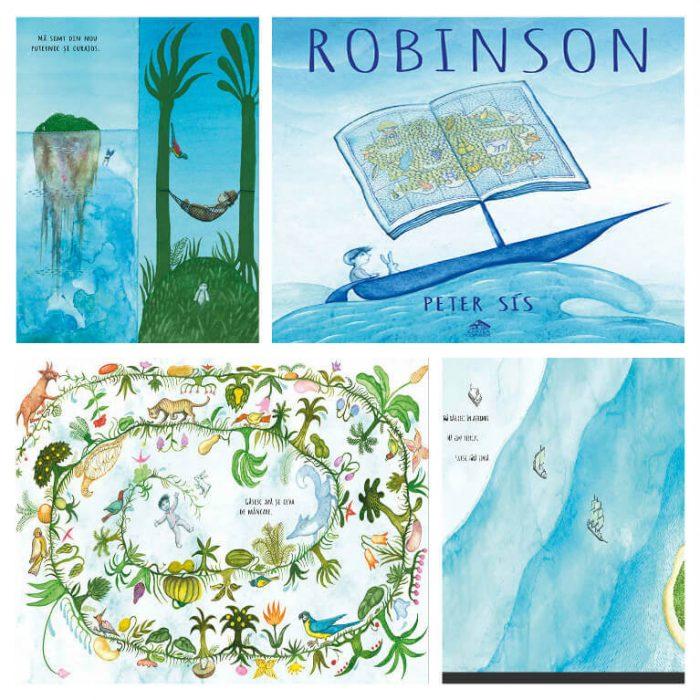 Robinson de Peter Sís – o carte despre puterea vindecătoare a poveştilor