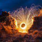 Duel poetic-Timp fără tine & Cărările nopții de foc-Creatii literare