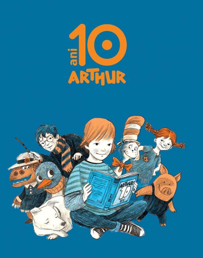 Editura Arthur sarbatoreste 10 ani| Literaturapetocuri.ro
