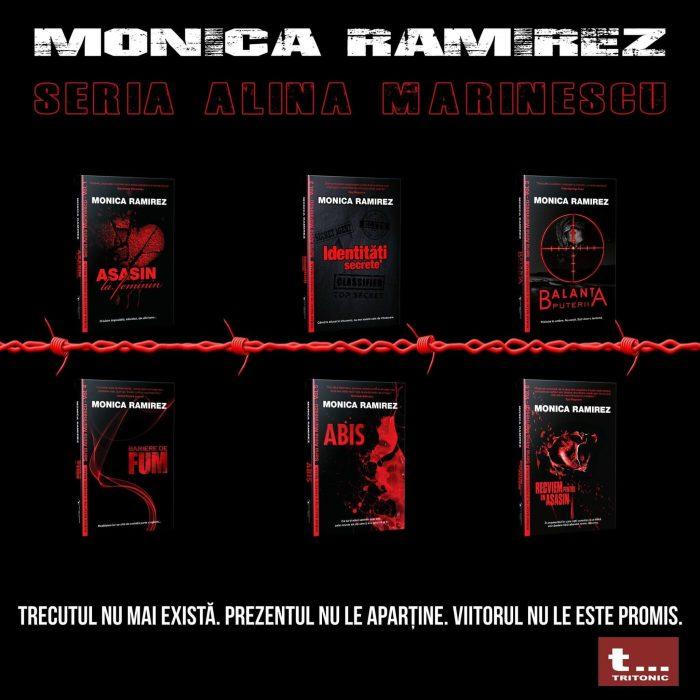 Bariere de fum - Seria Alina Marinescu - Monica Ramirez - Editura Tritonic